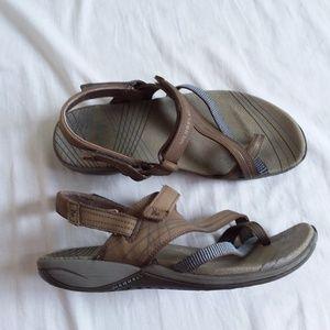 Merrell FREESIA Beige Sport Sandal Women's 8